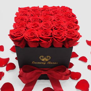 25 Roses in a Box