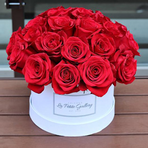 alanya florist 20 Red Roses with Box