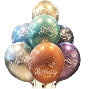 11 balon doğum günü İçin 7 Balon Doğum Günü İçin