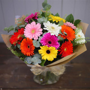 yellow chrysanthemum bouquet Gerbera Bouquet