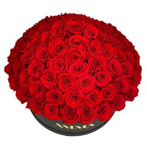 заказать доставку букета цветов в алании на нашем сайте VIP розы в коробке