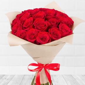 alanya Çiçek 25 Kırmızı Güller